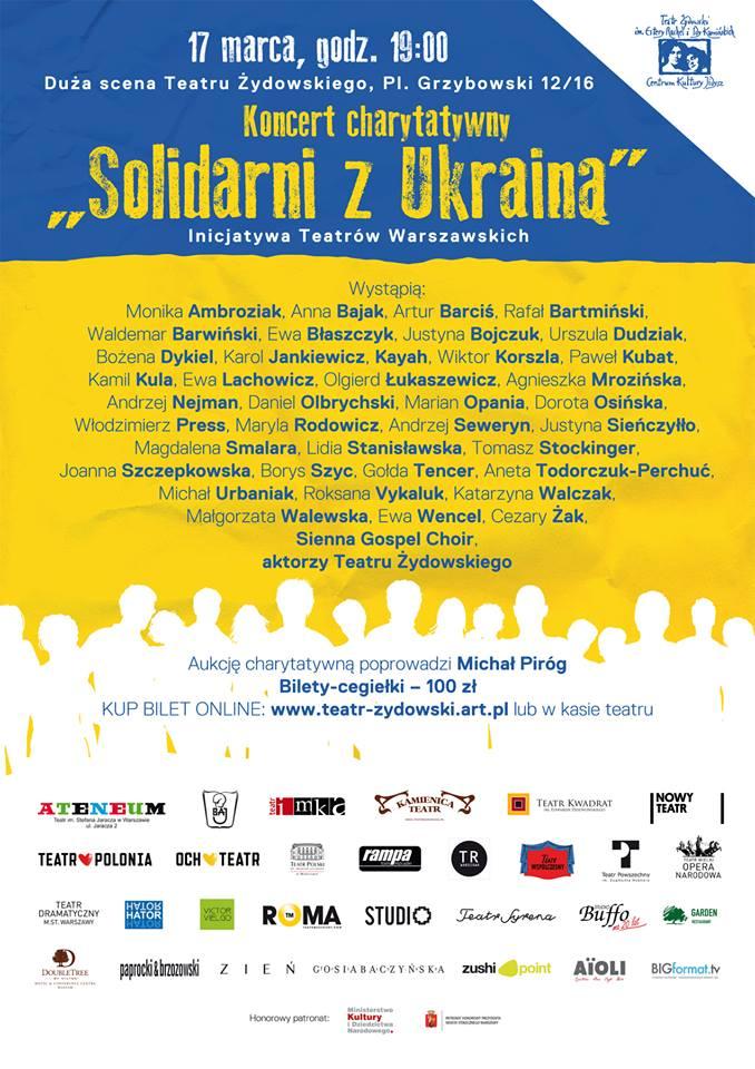 plakatsolidarnizukraina2014