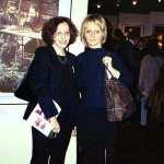 Lilka Elbaum i Izabela Teodrkiewicz - przedstawicielki Fundacji Shalom z USA i Warszawy podczas otwarcia w Buenos Aires