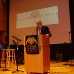 Przemówienie Rabina Josepha Polacka (Boston)  podczas otwarcia wystawy