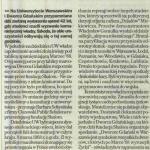 Gazeta Wyborcza, 9.03.2010