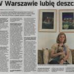 Rozmowa z Diti Rav-Ner, Życie Warszawy, 28.08.10