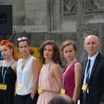 """Spektakl """"Aktorzy żydowscy"""": I. Rzeszowska, J. Rzączyńska, M. Trybalska, R. Kluge"""