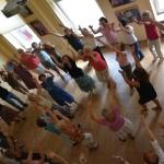 Pokaz i warsztaty tańca izraelskiego, prowadzenie Monika Leszczyńska
