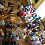 Licznie zebrani uczestnicy sesji