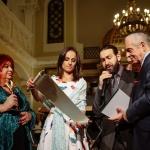 Nagrodę odbiera Serge Cwajgenbaum
